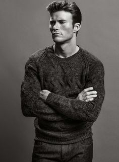 Scott Eastwood shot by Inez & Vinoodh for the Fall Winter 2014 campaing of Boss Hugo Boss