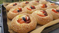 YouTube Pogaca Recipe, Kenwood Cooking, Youtube Cooking, Arabic Food, Bagel, Doughnut, Muffin, Brunch, Bread