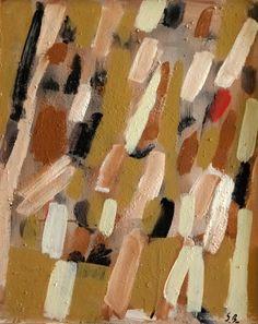 Acrylique et sable sur panneau. Dimension: 61,5x50,5 cm www.fondationsolangebertrand.org