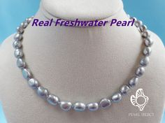 Freshwater pearl necklace,big baroque freshwater pearl necklace Pearl: Genuine cultured freshwater pearl Clasp: silver plated lobster clasp Pearl