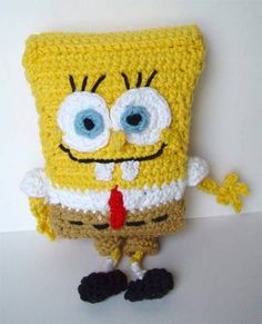 SpongeBob! My dad would love this, I just don't think I have the patience to do it myself.