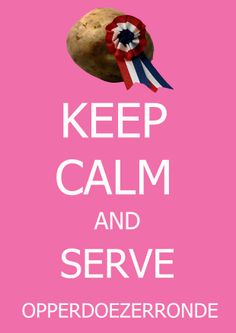 Kerststress? Keep calm and serve Opperdoezer Ronde! #Opperdoezerronde