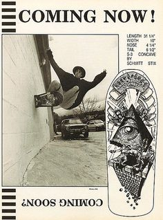 DECK OF THE DAY | SCHMITT STIX | ANDY HOWELL | ART BY ANDY HOWELL Poster Ads, Movie Posters, Skateboard Photos, Vintage Skateboards, Skate And Destroy, Bmx, Old School, Deck, Skateboarding