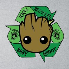 Recycled Baby Groot Guardians Of The Galaxy