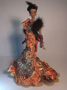 Barbie Golden Filigree Artist Creations Italian O.O.A.K. Fashion Dolls by Alessandro Gatti e Giuseppe De Bellis