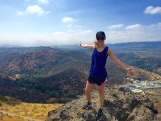 A Scenic Hike to the Top of Lizard Rock {Thousand Oaks}