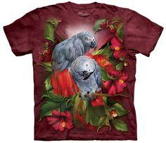 Parrot T-Shirt | African Grey Mates Adult