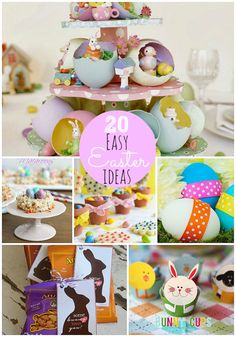 20 Easy DIY Easter Projects-- Tatertots and Jello #DIY #Easter