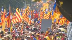 Catalans vote for independence from Spain despite Madrid's rejection Political Geography, Political Status, Catalan Independence, World History, Spanish, It Cast, Symbols, Scotland, September