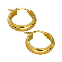 [The Lord Of The Rings: Earrings: Gold Plate One Ring (Product Image)]
