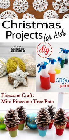 Looking for Christmas Craft Ideas for Kids. These 10 holiday kids projects will keep little ones entertained and connect them with the season.