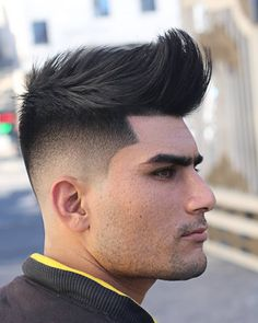 The drop fade haircut is a super cool fade that will always be a popular choice. Check out these different ways to wear the drop fade. Mens Modern Hairstyles, Cool Hairstyles For Men, Cool Haircuts, Haircuts For Men, Medium Hairstyles, Wedding Hairstyles, Drop Fade Haircut, Types Of Fade Haircut, Quiff Haircut