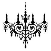 Stock Illustration of chandelier szo0418 - Search EPS Clip Art, Drawings, Wall Murals, Illustrations, and Vector Graphics Images - szo0418.eps