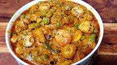Shahi Makhana Matar | शादी वाले फूल मखाना और मटर आप भी बनाकर देखिए - YouTube Veg Recipes Of India, Indian Food Recipes, Ethnic Recipes, Roasted Makhana Recipe, Ada Recipe, Veg Dishes, Paneer Recipes, Party Dishes, Indian Dishes