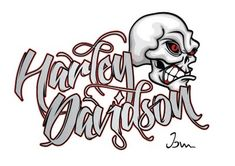 Alt-Ctrl-Z: Harley Davidson Logo