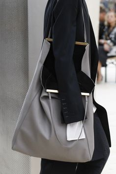 Céline Bets Heavily on a New Frame Bag on Its Spring 2017 Runway