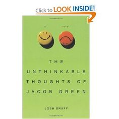 The Unthinkable Thoughts of Jacob Green  Book