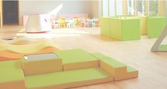 great SOFT climbing areas for toddlers Daycare Design, Classroom Design, Classroom Furniture, Nursery Furniture, Playroom Art, Playroom Ideas, Soft Play Centre, Indoor Play Areas, Kids Indoor Playground