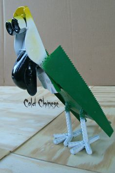 Sammy the Parrot by ColdChinese on Etsy, $30.00