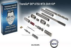Transgo SK A750 WTA Shift Kit Tools Included A750F A761E A960E A760E 147165CT #Transgo