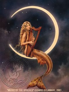 Wishing you a beautiful night (art by the beloved David Delamare)