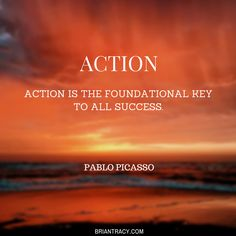 The most important thing is to begin -- to take #action!
