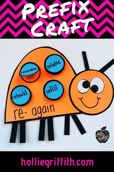 Teach students to use frequently occurring affixes as a clue to the meaning of a word with this engaging hands-on resource. This bundle focuses on prefixes and includes 5 days of mini lessons, an anchor chart, task cards, partner games, activities, an interactive notebook page, a fun craft, and a quick assessment. This is a complete hands-on mini unit that will add fun and excitement to your classroom. #HollieGriffithTeaching #TeacherResources #KidsActivities #HandsOnLearning