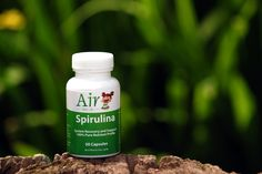 Air's Spirulina 'superfood' powder has an amazing, rich fresh taste. Our product is very high-quality blue-green algae with an excellent nutrient profile. It's pure, ecological and earth-friendly. Spirulina is concentrated with a variety of high-quality nutrients. It is the only protein that is 100% absorbed by the body. It is a perfect combination of 18 amino acids, and is rich in Vitamins A, B1, B2, B6, B12, C, E, & H. It also has plenty of Selenium, Zinc, and other minerals essential. Air Thai, B6 B12, Superfood Supplements, Detox Organics, Green Algae, Superfood Powder, Spirulina, Amino Acids, Minerals