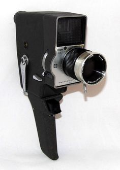 https://flic.kr/p/JWvYRJ | Vintage Mansfield Holiday Zoom Model CE-I Automatic Electric Eye 8mm Movie Camera, Made In Japan, Circa 1960
