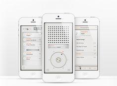 T3 music app looks like dieter rams' braun radio