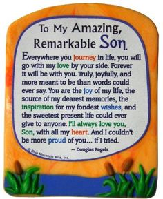 Sculpted Magnet: To My Amazing Remarkable Son, x Poem For My Son, Son Quotes From Mom, Mother Son Quotes, Prayer For My Son, Mothers Love Quotes, My Children Quotes, Daughter Quotes, Son Birthday Quotes, Happy Birthday Son