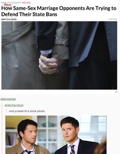 Everybody ships Destiel. Even people who don't know what Destiel is ship Destiel.