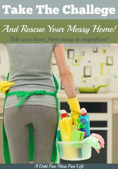 This challenge changed my life! Instead of feeling hopeless and depressed over the cleanliness and organization of my home, I'm now thrilled at how peaceful, clean and organized it's become. We went from messy to magnificent!