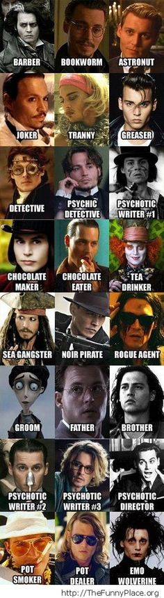 Always Johnny Depp