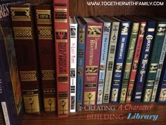 Character Building Books by Lamplighter Publishing. The gentleman that runs this company republishes books from that taught children Christian characteristics. I Love Books, Great Books, Books To Read, Home Schooling, Kids Reading, Read Aloud, So Little Time, Book Lists, Have Time