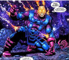Galactus: Galactus sans-helmet