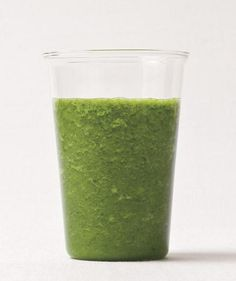 Kale-Apple Smoothie | The freshest, fastest way to get your veggies is in a smoothie. Try these easy tips and healthy recipes before mixing up a green drink.