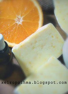 ΣΑΠΟΥΝΙ με πορτοκάλι Make Beauty, Home Made Soap, Natural Cosmetics, Diy Cleaning Products, Soap Making, Etsy Handmade, Healthy Tips, Health And Beauty, Diy And Crafts