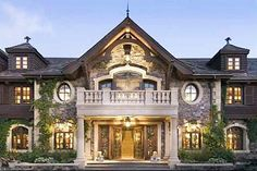 Prob not the 75 mill version, but would love to have the front of my house look like this.