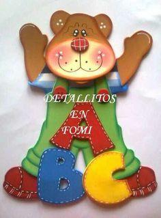 Paper Piecing Patterns, Felt Patterns, Craft Patterns, Foam Crafts, Diy Crafts, Kids Christmas, Christmas Ornaments, Bear Felt, Operation Christmas Child