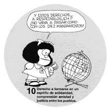 Resultado de imagen para derechos del niño mafalda 7