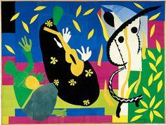 Henri Matisse, La Tristesse Du Roi     (Sorrows of the King), 1952. Showing at Centre Pompidou, March 7 - June 18 2012