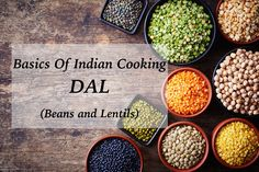 This guide covers the most popular types of lentils and beans used in Indian cooking, including Chana, Mung Dal, and more! Lentils And Rice, How To Cook Lentils, Lentil Dishes, Rice Dishes, Indian Fish Recipes, Cooking Cup, Potluck Recipes, Potluck Food, Vegan Recipes