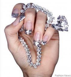 diamonds r a girls best friend.if I win the lottery..