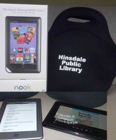 Enjoy your eReader with FREE eBooks from the Library!  Did you know that your Hinsdale library card gives you free access to a growing collection of eBooks? Visit our eBook catalog to start searching. Need help? Select the OverDrive Help button for detailed instructions for your particular device. Need more hands-on assistance? Call the Adult Services department at 630.986.1982 to schedule a one-on-one instruction session.