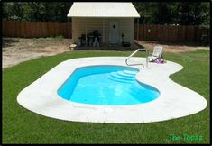 Small Fibergl Pools Topaz Pool Kits How Much Do Cost Inground Swimming