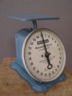 Vintage Universal Household Scale Patented April 16,1907