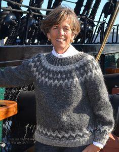 Ravelry: Suéter Lopi (Islandia) patrón de Susanne Pagoldh