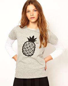 White Chocoolate Pineapple T-Shirt