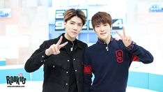 SMROOKIES JAEHYUN WITH EXO SEHUN! @ EXO 90:2014